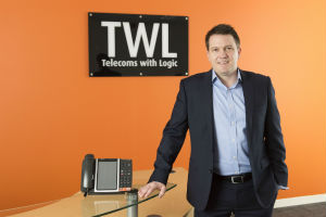 Telecoms firm rises above the clouds as it hits record turnover